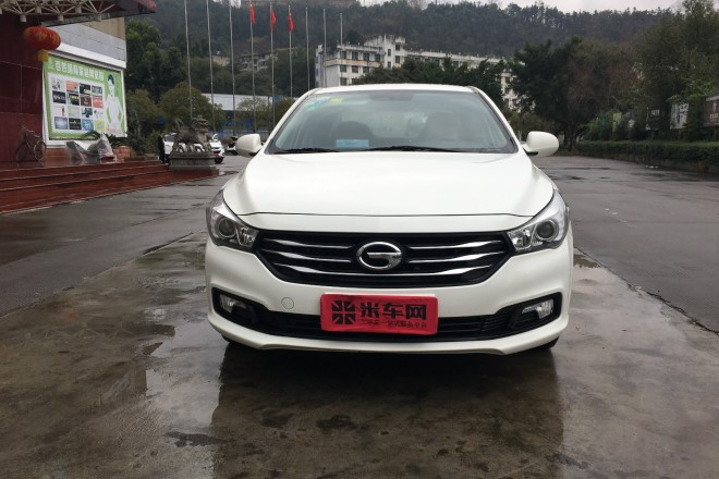 二手车广汽传祺传祺GA5 2014款 1.6T 自动豪华版