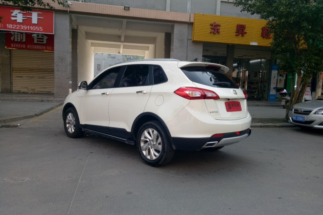 二手车北汽绅宝绅宝X65 2015款 2.0T 自动豪华型