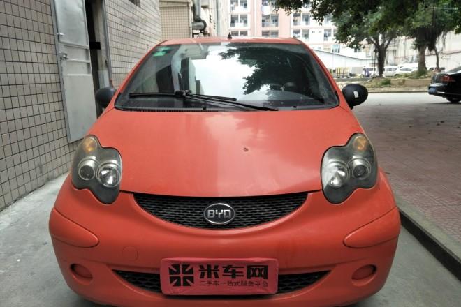 二手车比亚迪F0 2010款 尚酷爱国版 1.0L 铉酷型