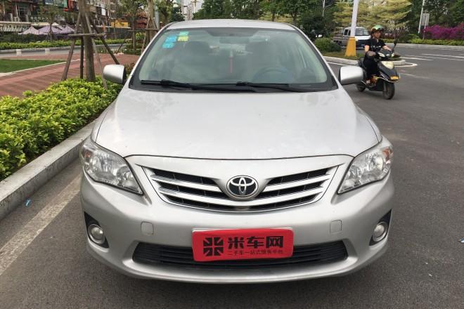 二手车丰田卡罗拉 2011款 1.6L 手动GL