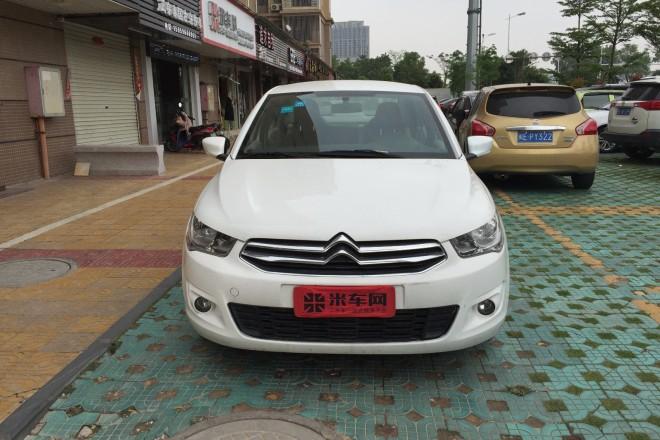 二手车雪铁龙爱丽舍 2014款 1.6L 自动舒适型