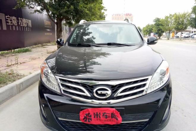 二手车广汽传祺传祺GS5 2013款 2.0L 自动两驱浅内特别版