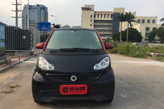 二手车smart fortwo 2012款 1.0 MHD 硬顶烈焰特别版