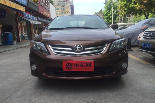 二手车丰田卡罗拉 2012款 炫装版 1.6L 自动GL