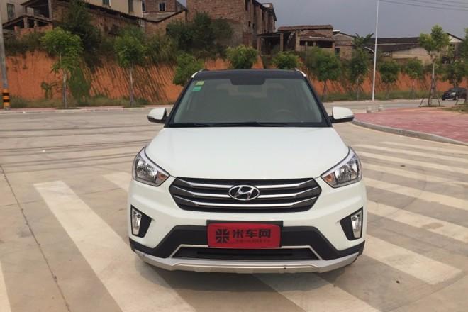 二手车北京现代ix25 2015款 2.0L 自动两驱智能型GLS
