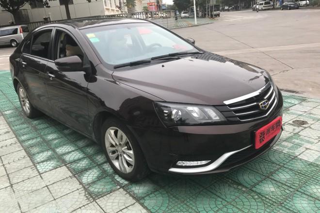 二手车吉利汽车吉利 帝豪三厢 2016款 1.5 自动 向上版