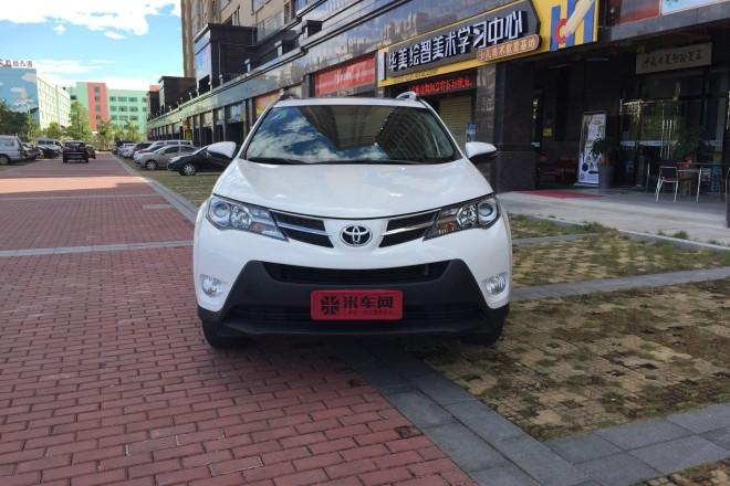 二手车一汽丰田RAV4 2013款 2.0L CVT四驱风尚版