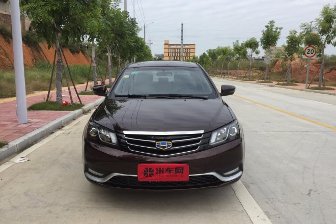 二手车吉利汽车帝豪 2015款 三厢 1.3T CVT向上版