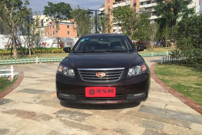 二手车吉利汽车经典帝豪 2013款 三厢 1.8L 手动精英型
