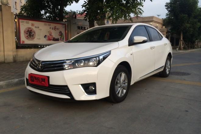 二手车丰田卡罗拉 2014款 1.6L CVT GL-i