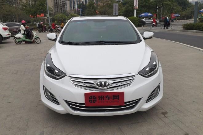 二手车现代朗动 2012款 1.8L 自动尊贵型