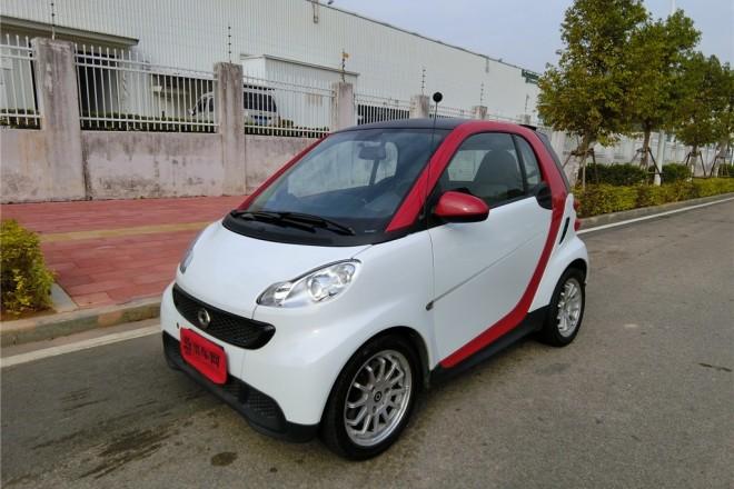 二手车smart fortwo 2014款 1.0 MHD 硬顶新年特别版
