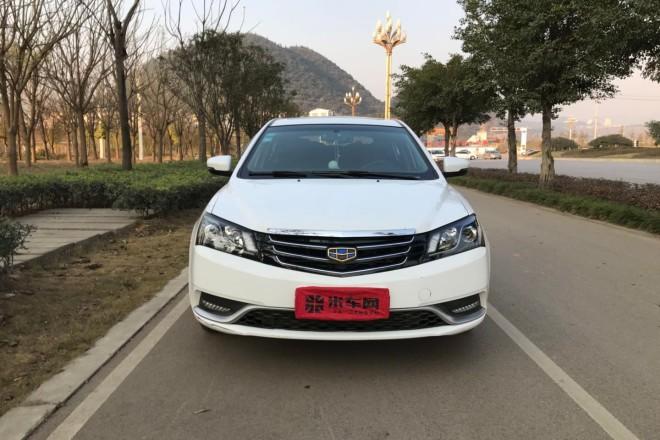 二手车吉利汽车帝豪 2014款 两厢 1.3T CVT尊贵型