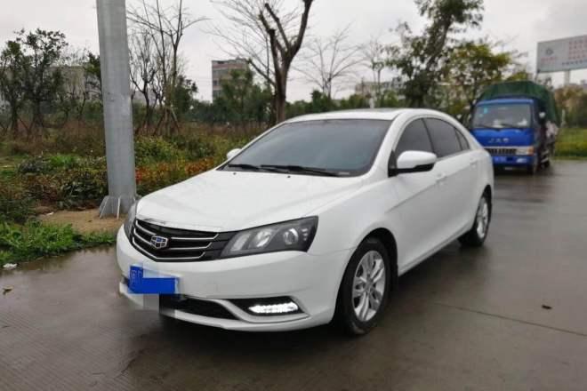 二手车2016款 帝豪 三厢 1.5L CVT豪华版