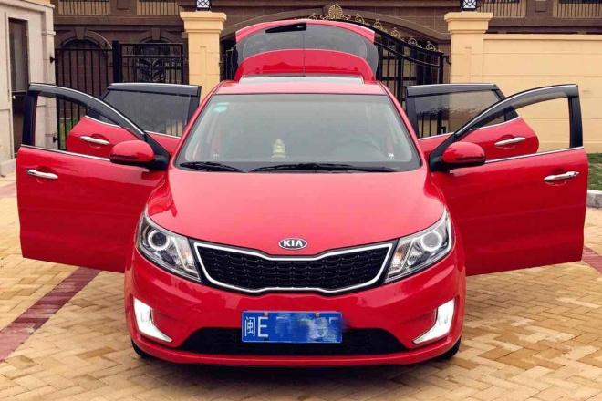二手车2012款 起亚K2两厢 1.6L 自动 Premium