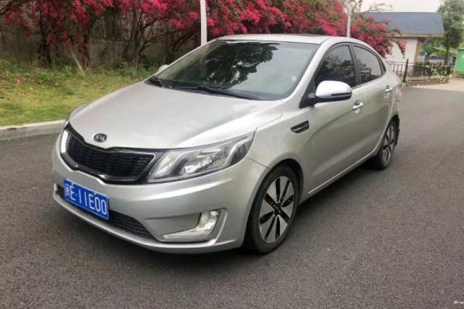 二手车2012款 起亚K2三厢 1.6L 自动 Premium ECO 纪念版