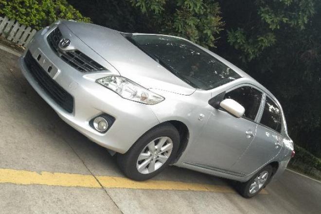 二手车2012款 卡罗拉 1.6L GL炫装版 5MT
