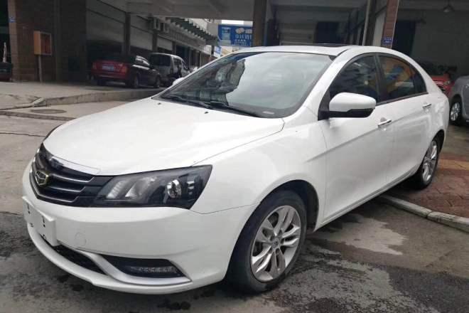 二手车2014款 帝豪 三厢 1.3T CVT尊贵型