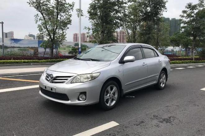 二手车2012款 卡罗拉 1.8L GL-i炫装版 CVT
