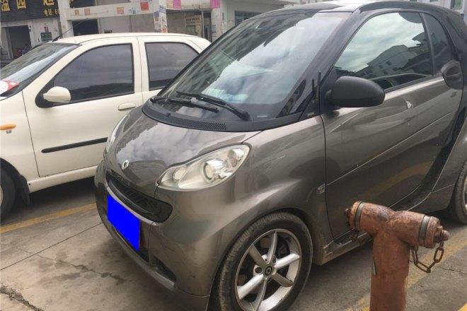 二手车2012款 Fortwo 1.0T 流光灰特别版