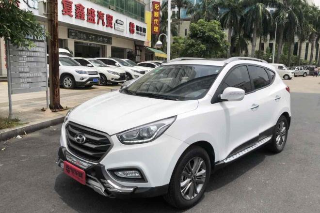 二手车2013款 北京现代ix35 2.0L GL 自动 两驱 舒适型 国IV