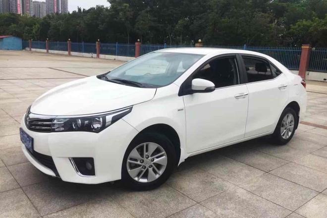 二手车2016款 卡罗拉 1.6L CVT GL-i炫酷版