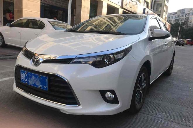 二手车2017款 雷凌 1.2T G CVT精英版