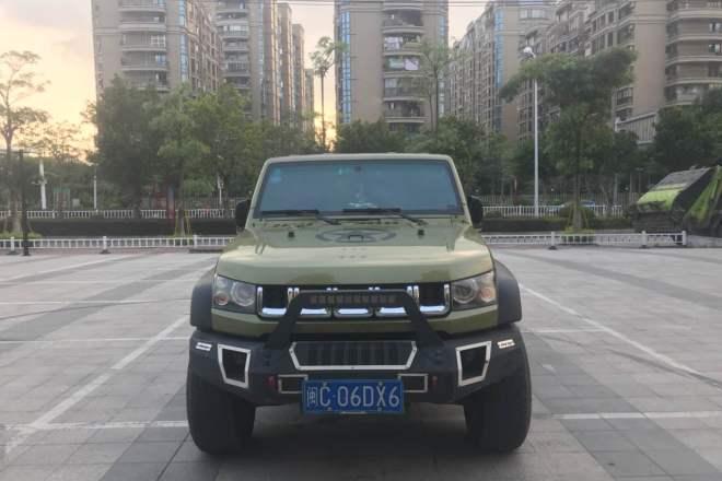 二手车2017款 北京40 40L 2.3T 自动四驱环塔冠军版
