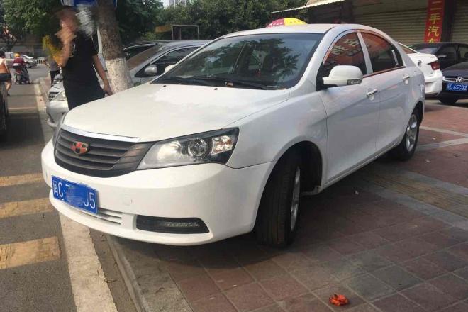 二手车2013款 帝豪EC7-RV 1.5L 手动 尊贵型