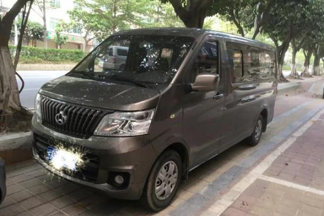 二手车2014款 长安睿行 1.5LCNG舒适型4G15S
