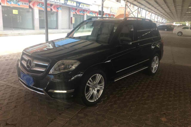 二手车2013款 奔驰GLK级 GLK300 4MATIC 豪华型 改款