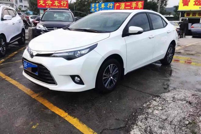 二手车2014款 雷凌 1.6G CVT 精英版