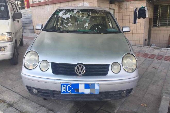 二手车2003款 POLO 三厢 1.4L 手动 基本型
