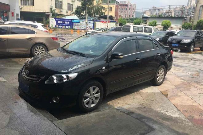 二手车2012款 卡罗拉 1.6L GL炫装版 4AT