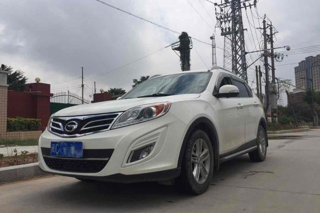 二手车2012款 传祺GS5 2.0L 手动 两驱 舒适版