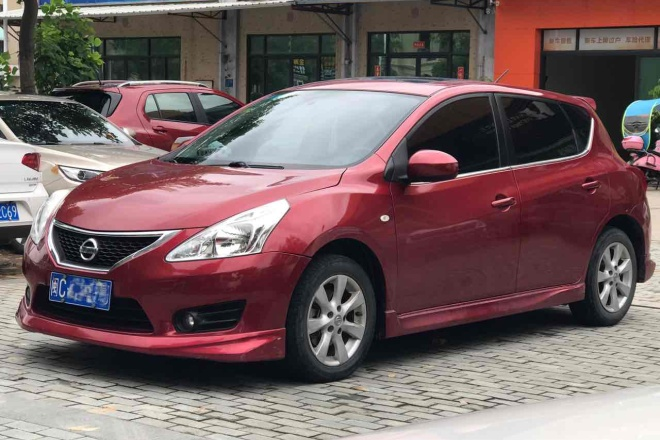 二手车2011款 骐达 1.6L XL CVT 智能版