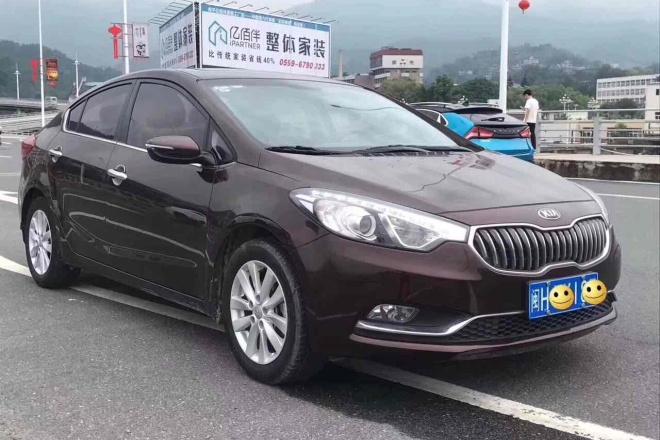 二手车2016款 起亚K3 1.6L 手动GLS