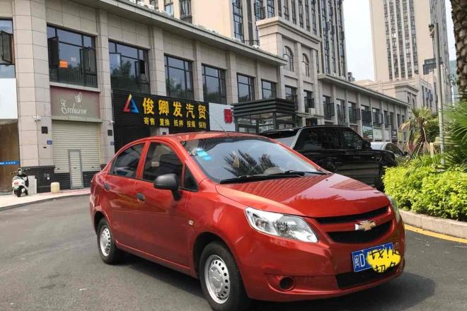 二手车2013款 赛欧三厢 1.2L 手动 SX 幸福版