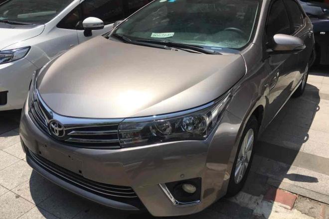 二手车2017款 卡罗拉 改款 1.2T CVT GLX-i