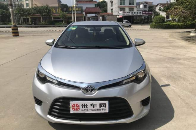 二手车2016款 雷凌 1.6E CVT新锐版