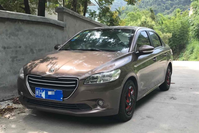 二手车2014款 标致301 1.6L 自动 舒适版