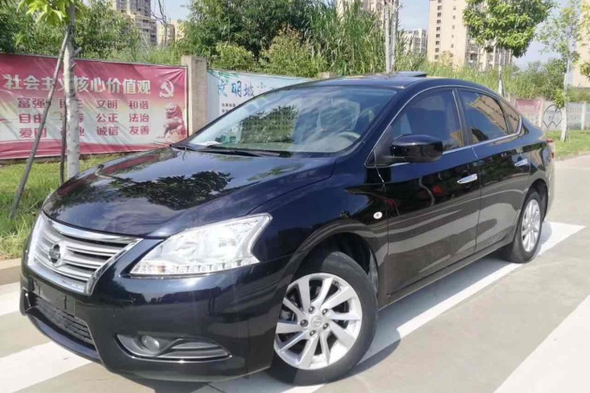 二手车2014款 轩逸 1.6XV CVT 尊享版