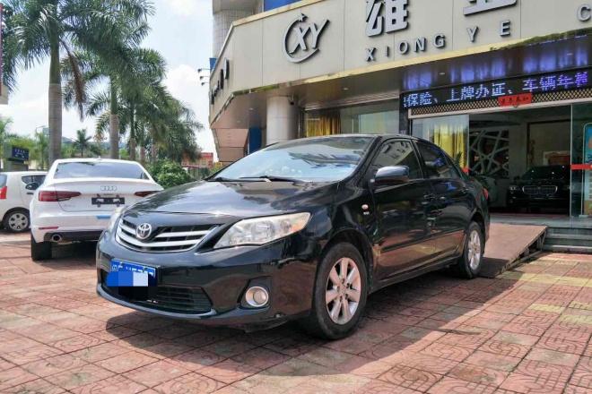 二手车2011款 卡罗拉 1.6L GL 5MT