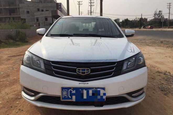 二手车2013款 帝豪EC7 1.5L 手动 精英型