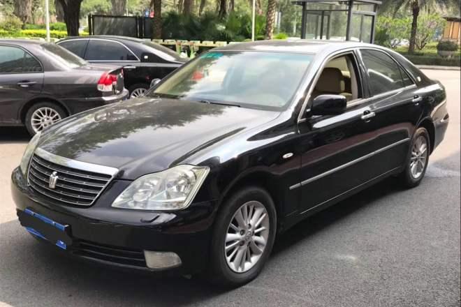 二手车2007款 皇冠 2.5L Royal 真皮版