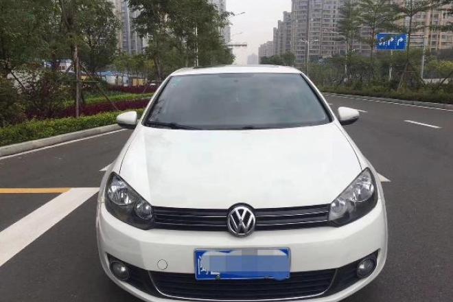 二手车2012款 高尔夫 1.6L 自动 舒适型