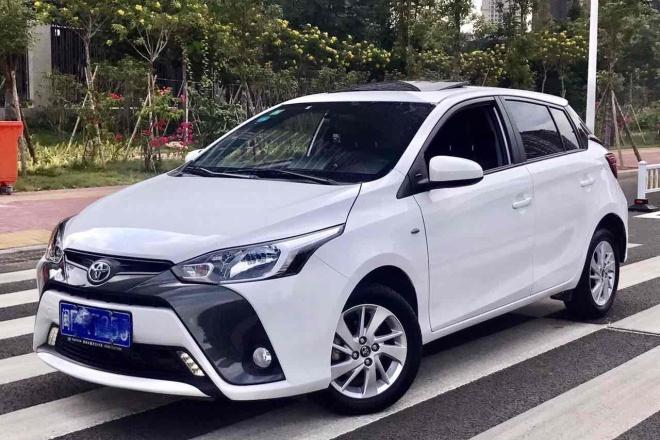 二手车2016款 YARiS L 致炫 改款 1.5G CVT 炫动天窗版