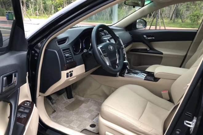 二手车2010款 锐志 2.5V 风尚豪华导航版