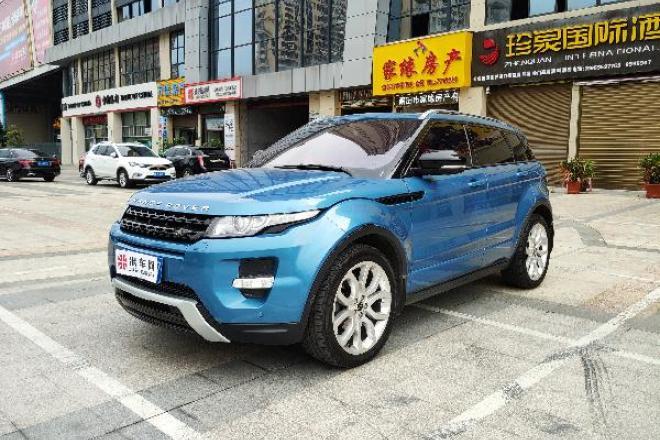 二手车2012款 揽胜极光(进口) 2.0T 5门耀动版