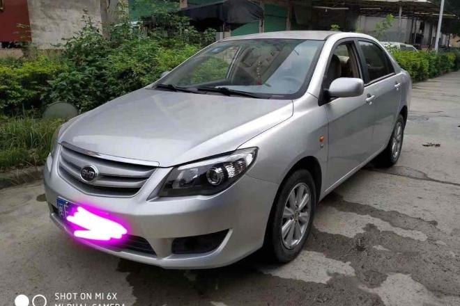 二手车2012款 比亚迪L3 1.5L 手动 舒适型
